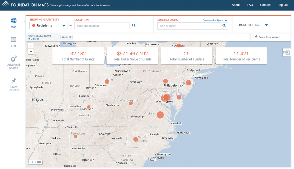 Webinar: Using WRAG's Foundation Map to Work Smarter with ... on